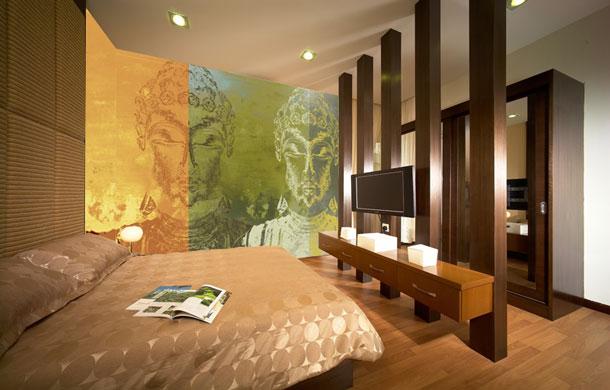 concours et id es de d co vive la d coration immobilier d co chambre zen chambre zen buddha. Black Bedroom Furniture Sets. Home Design Ideas