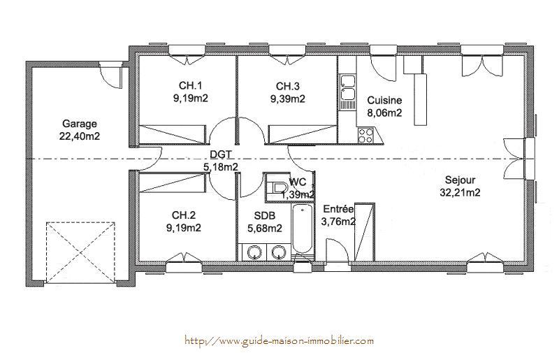 Idee Plan De Maison Best Tage Modle Pour Bord De Lueau Chambres