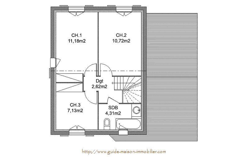 Fabulous with maison 49 for Devis pour construire une maison